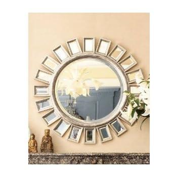 Amazon.com: Brilliant Sunburst / Starburst Wall Mirror