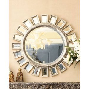 brilliant sunburst starburst wall mirror - Home Decor Mirrors