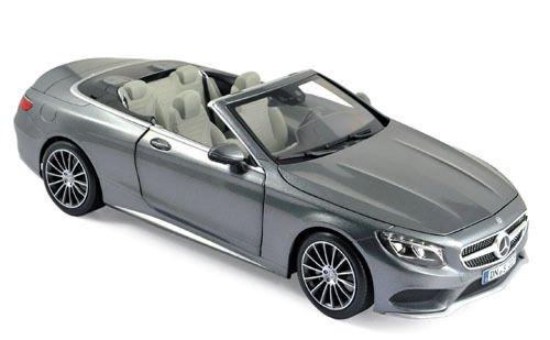 - Norev NV183484 1:18 Scale Mercedes Benz S Klasse Cabriolet Die Cast Model Car