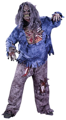 FunWorld Men's  Complete 3D Zombie-Plus Costume