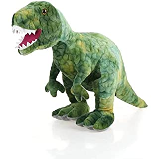 """AIXINI Stuffed Dinosaur Plush Toy - 23.6"""" Long Realistic Stuffed Animal Toy for Boy Girls Kids and Toddlers, Green"""