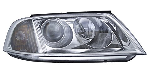 (HELLA 008350061 Headlamp Assembly (Passenger Side, VW Passat), 1 Pack )