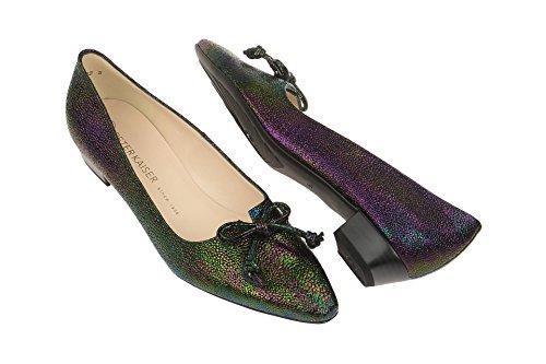 Peter Kaiser 22407/609 - Zapatos de vestir de Piel para mujer Plateado - kombi