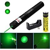 Good Mood Store High Power Green Pointer Pen 532nm Continuous Line 500 to 10000 meters range