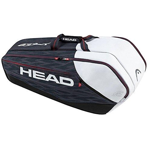 - HEAD Djokovic 9R Supercombi Tennis Bag, Navy/Black/White