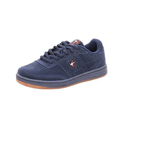 KangaROOS Unisex-Kinder Retro Cup Kids Sneaker Blau (Dk Navy)