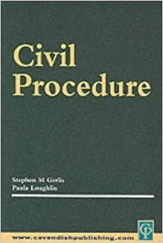 Civil Procedure (Practice & Procedure)