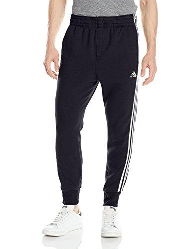Adidas Men's Basketball Slim 3 Stripe Sweatpants AP0422 At
