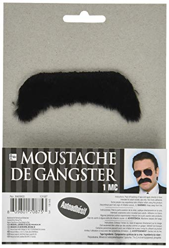 Amscan Good Fella Moustache - Wacky Facial Hair Costume Accessory