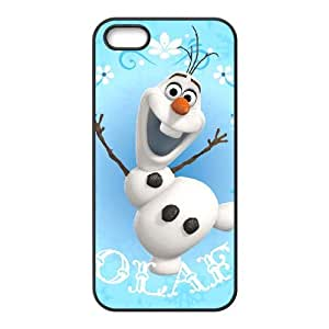 Olaf 002 iPhone 4 4s Cell Phone Case Black TPU Phone Case RV_560610