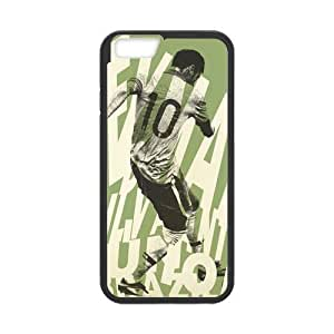 iPhone 6 Case, [soccer player] iPhone 6 (4.7) Case Custom Durable Case Cover for iPhone6 TPU case(Laser Technology)