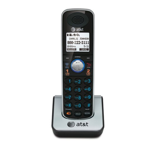 Advanced American Telephones AT&T TL86009 TL86009 DECT 6.0 Cordless Accessory Handset for TL86109 from Advanced American Telephones