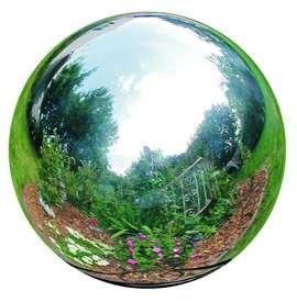 Gazing Globe, Stainless Steel Gazing Ball