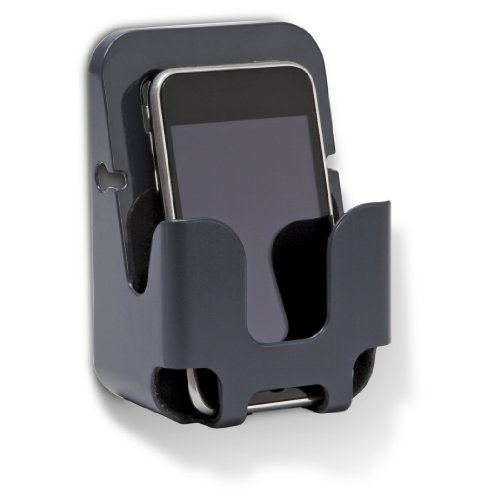 Officemate OIC Vertical mate Cell Phone Holder, Charcoal (29262) - Oic Panel