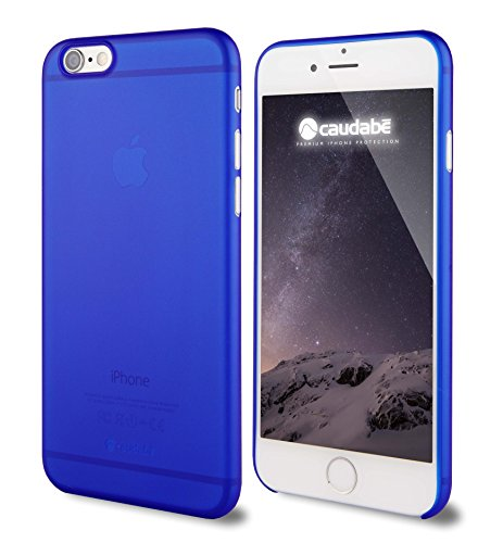 Caudabe: The Veil iPhone 6/6S (4.7) Premium Ultra Thin Case (Blue) [Eco-friendly retail - And Finish Style Curl