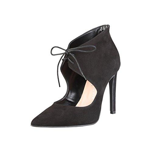 Salón Made Shoes Italia Mujer In Negro Baile de Zapatos para rYAZrwqxC