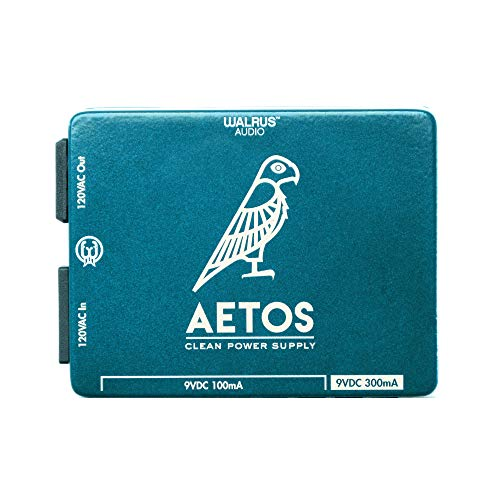 Walrus Audio Aetos 8 Output Power Supply, Limited Edition Teal/Cream (Gear Hero Exclusive)