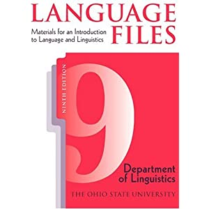 Amazon language files materials for an introduction to language files materials for an introduction to language and linguistics 9th edition fandeluxe Choice Image