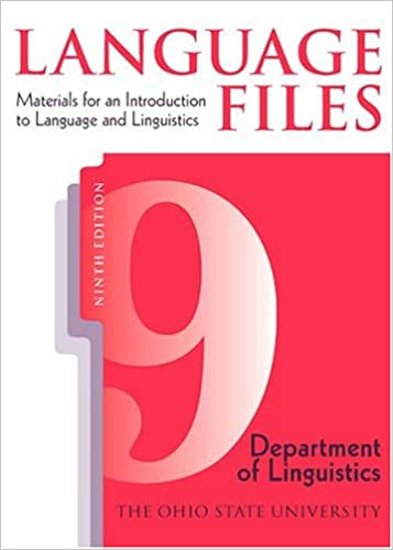 Amazon language files materials for an introduction to language files materials for an introduction to language and linguistics 9th edition 9th edition fandeluxe Images