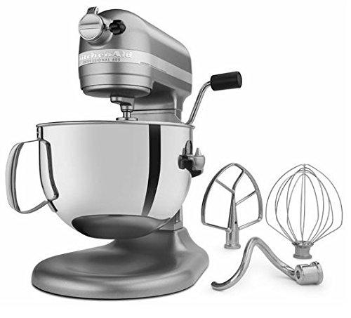 KitchenAid Professional 600 Series KP26M1XER Bowl-Lift Stand Mixer, 6 Quart, Silver - smallkitchenideas.us
