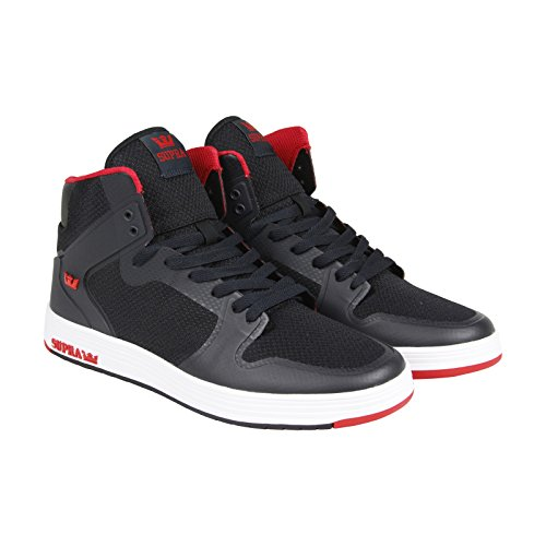 Supra Mens Vaider 2.0 Shoes Size 11 Black - Red
