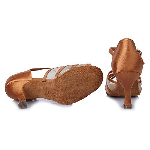 amp;Ni Baile Baile Mujeres Zapatos Sal YKXLM de Latinos Zapatillas a de de 4wxHz5q7z
