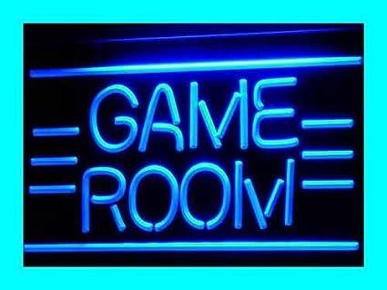 GAME ROOM Toys TV LED Sign Neon Light Sign Display i338-b(c ...
