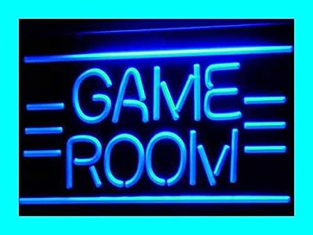 Cartel Luminoso ADV PRO i338-b GAME ROOM Displays Toys TV Neon Light Sign