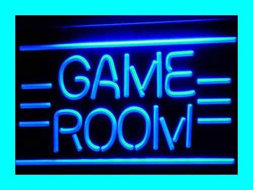 GAME ROOM Toys TV LED Sign Neon Light Sign Display i338-b(c ...