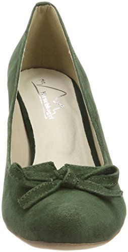 Hirschkogel Women's 3005701 Closed Toe Heels Green (Tanne 147) fast delivery online sale for nice affordable cheap price cheap shop Inexpensive for sale UqTUl1rcqX