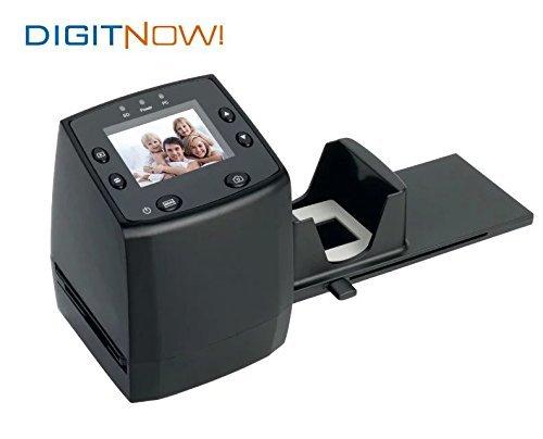 Digitnow!Combo Dia-Film-Foto-Scanner & Digital Foto Farbkopierer bis 13x18cm & 35mm Dia für Negativfilme und Diafilme (SD-Kartenslot, 6,1 cm (2,4 Zoll) TFT-Display, 5 Megapixel, 3600dpi, USB 2.0)