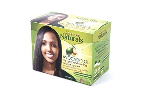 Avocado Oil No-Lye Afro Hair Relaxer (1 strength for fine to coarse hair) by Ayaan Naturals Soulful Beauty Ltd