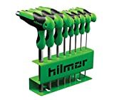 Hilmor 1937817 T-Handle Hex Key Set