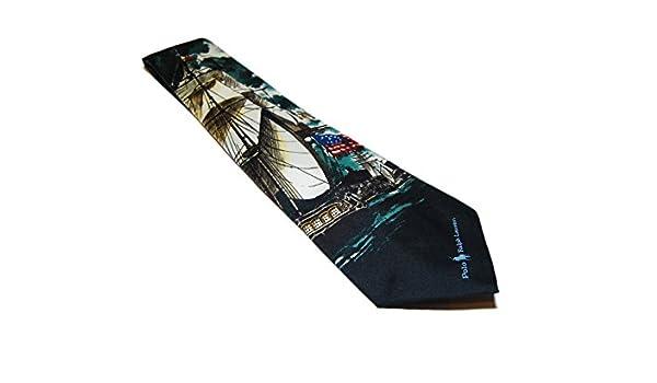 Ralph Lauren Polo Corbata de seda para hombre, diseño náutico ...