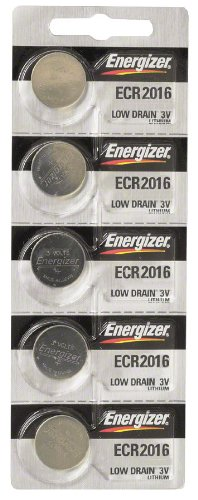 Energizer CR2016 Lithium Battery Card