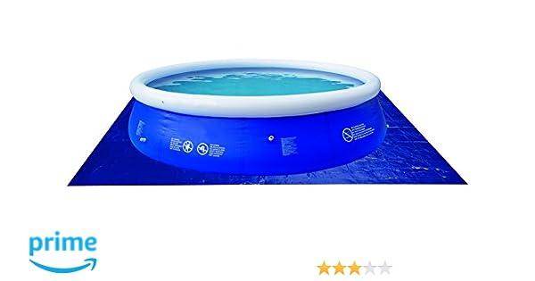 JILONG 6926799207076 - Piscina Plano de Masa gc para Piscinas Redondas, 330 x 330 cm, Azul: Amazon.es: Jardín