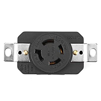 NEMA L14-20R 125//250V Locking Electrical Plug Female Wall Receptacle