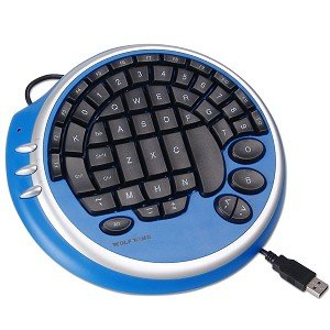 Wolfking Game Pad (Wolf King Warrior USB Ultimate FPS Gaming Pad (Blue))
