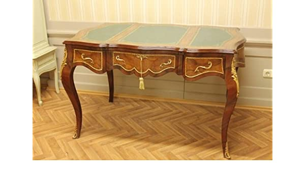 LouisXV mesa de escritorio barroco Oficina Plat 145 MoSr1314SkGn ...