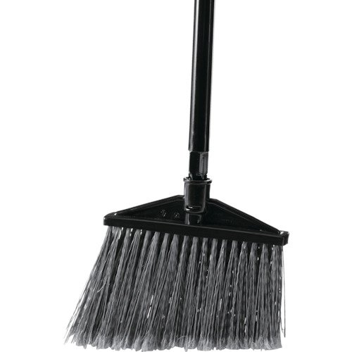 - Rubbermaid Commercial Executive Series Angle Broom, Aluminium Handle, Black (1861078)