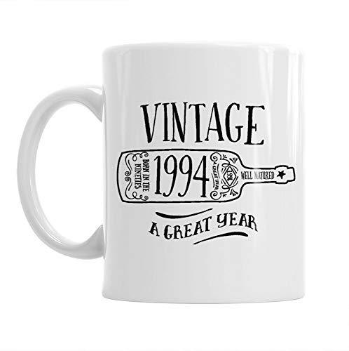 25th Birthday, 25th Birthday Gift, 25th Birthday Gifts For Men, 25th birthday Gifts For Women, 1994 Birthday, Vintage Wine 1994, Coffee Mug