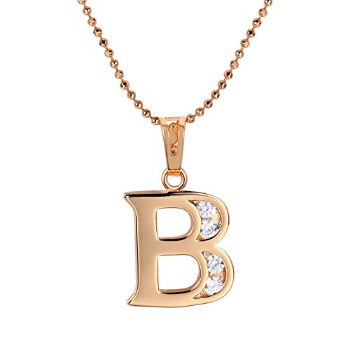 [Snowman Lee Diamond Accent Mini Initial Letter Name Pendant Necklace] (Princess Tiny Feet Costume)