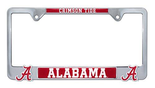 Elektroplate Alabama Crimson Tide 3D Metal License Plate Frame ()