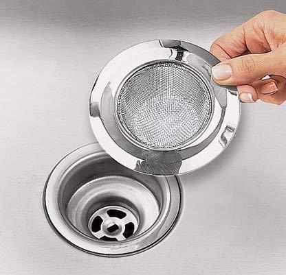 sosuo 45 inch stainless steel kitchen sink strainer - Sink Strainer