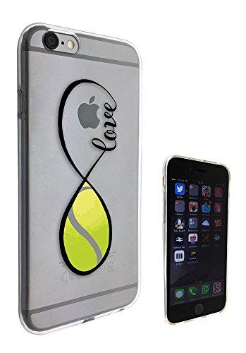 c0139 - Love infinity Love tennis Design Pour iphone 5C Protecteur Coque Gel Rubber Silicone protection Case Coque