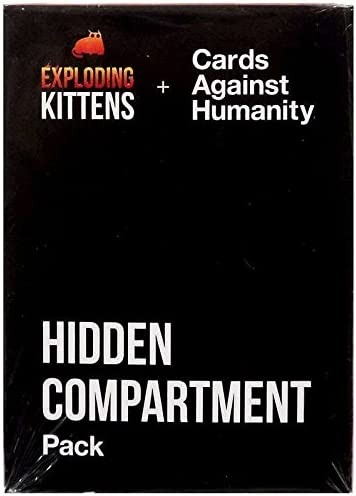 Exploding Kittens + Cards Against Humanity - Juego de compartimentos ocultos: Amazon.es: Juguetes y juegos