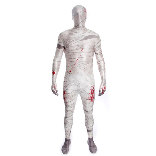 Mummy Morphsuit Boys Costume (Kids Mummy Costumes)