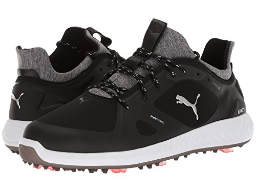 [PUMA(プーマ)] メンズランニングシューズ?スニーカー?靴 Ignite Power Adapt Puma Black/Puma Black 13 (31cm) EE - Wide