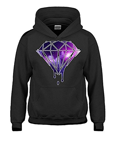 Artix Galaxy Diamond Unisex Hoodie Sweatshirts (Mediumm, Black)