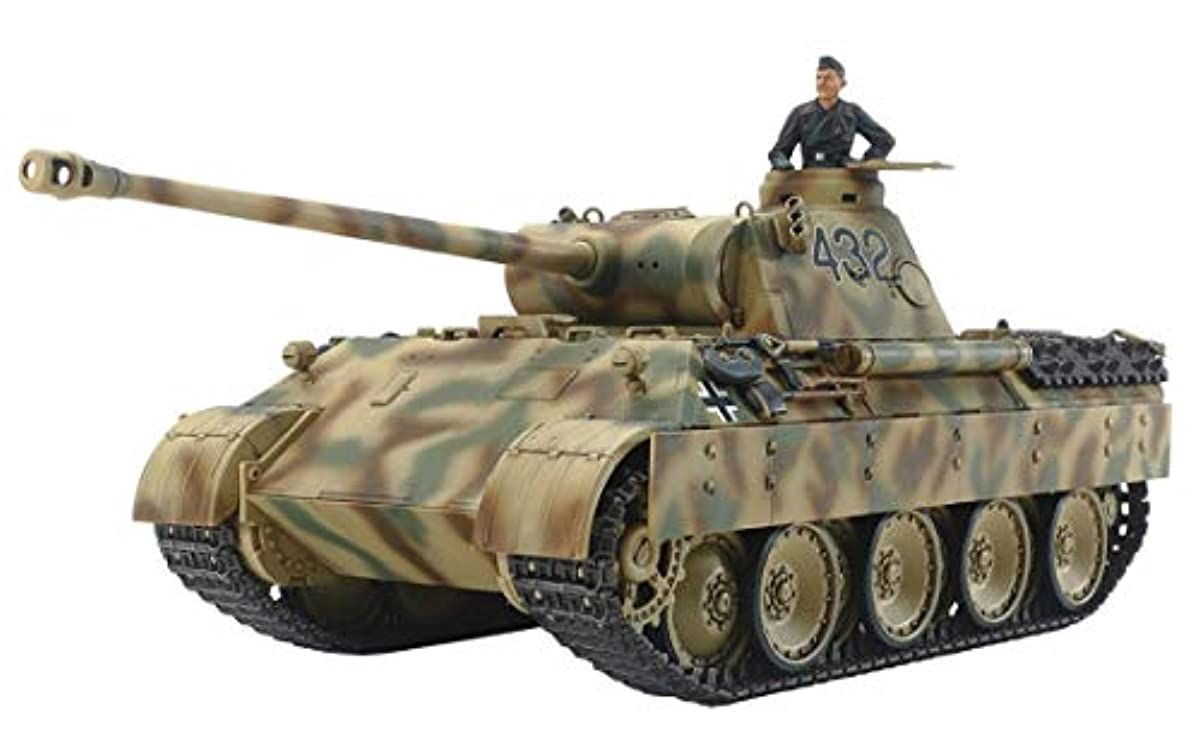 [해외] 퍼터미야 1/48 밀리터리 미니어쳐 시리즈 NO.97 독일군 팬서D형 프라모델  32597